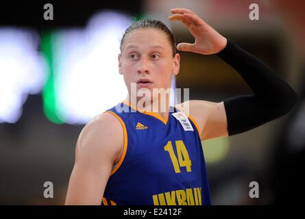 Hagen, Germany. 15th June, 2014. Ukraine's Alina Iagupova ...