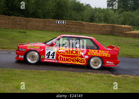 BMW M3 1988 No.44 'Demon Tweeks' E30 M3 Rally Cars Alan Minshaw at the Cholmondeley Pageant of Power.   The action - Stock Photo