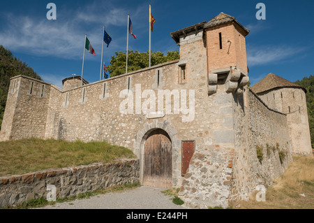 fort de savoie in colmars les alpes in the alpes de haute provence stock photo royalty free. Black Bedroom Furniture Sets. Home Design Ideas