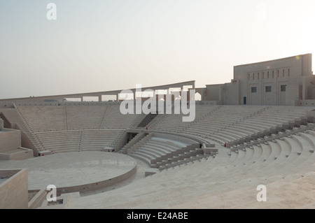 The Katara Amphitheater in Doha, Qatar - Stock Photo