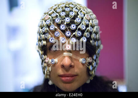 Study of brain - Stock Photo