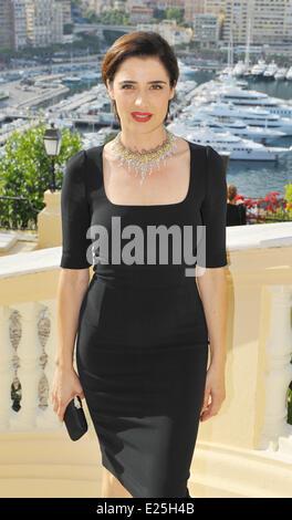 Celebrities during the 53rd Monte Carlo TV Film Festival  Featuring: Luisa Ranieri Where: Monte Carlo, Monaco When: - Stock Photo