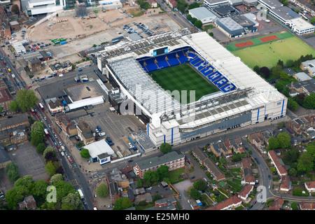 Tottenham Hotspur Football Club Stadium in White Hart Lane London. - Stock Photo