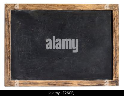 Vintage blackboard or school slate - Stock Photo