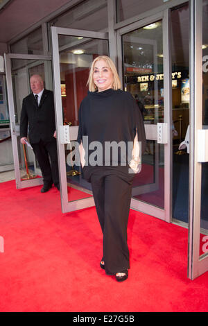 Odeon West End, London, June 16th 2014. arrives at the Odeon West End in Leicester Square, London, for the gala - Stock Photo