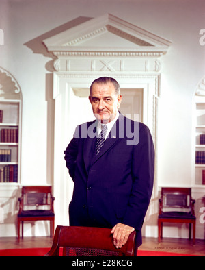 Lyndon B. Johnson, 36th President of the United States - Stock Photo