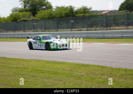 Ginetta G50 PRO, of Genesee Reflex Racing team, driven By BACHETA Luciano (GBR) and VIVIAN Marcos (ESP), the GT4 - Stock Photo