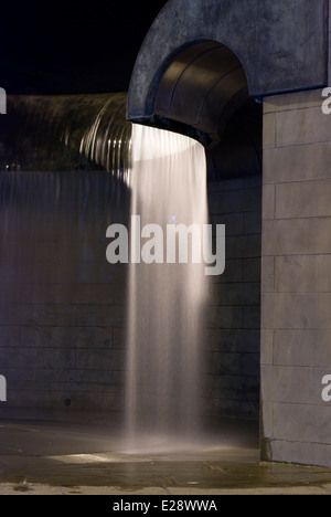 Water Feature Derby Marketplace - Stock Photo