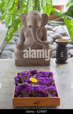 spa area of a star hotel in bali massage area spa thatched houses stock photo 94207581 alamy. Black Bedroom Furniture Sets. Home Design Ideas