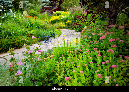 Winsome Alpine Garden Plants In Bloom Greater Sudbury Ontario Canada  With Exciting  Flower Garden With Foreground Sedums And Stone Path In Betty Ford Alpine  Gardens Vale Colorado With Lovely Garden Display Ideas Also Mosaic Garden In Addition Contemporary Garden Sheds And Garden Mountain As Well As Indian Garden Tyburn Road Additionally The Agony In The Garden Giovanni Bellini From Alamycom With   Exciting Alpine Garden Plants In Bloom Greater Sudbury Ontario Canada  With Lovely  Flower Garden With Foreground Sedums And Stone Path In Betty Ford Alpine  Gardens Vale Colorado And Winsome Garden Display Ideas Also Mosaic Garden In Addition Contemporary Garden Sheds From Alamycom
