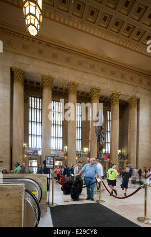 30th Street Station, Philadelphia, USA - Stock Photo