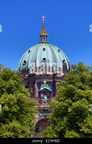 Berlin Cathedral, the Berliner Dom in Berlin, Germany - Stock Photo