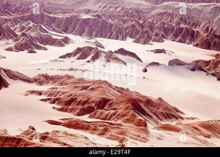 Chile, Antofagasta region, Atacama desert, San Pedro de Atacama, Death valley - Stock Photo