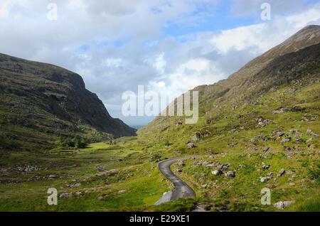 Ireland, County Kerry, Killarney region, Gap of Dunloe - Stock Photo