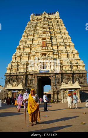 India, Tamil Nadu State, Kanchipuram, Sri Ekambaranathar - Stock Photo