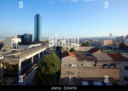 France, Bouches du Rhone, Marseille, european capital of culture 2013, Euromediteranean area, La Joliette district, - Stock Photo