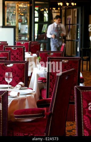 France, Alpes Maritimes, Cannes, Hotel Majestic, Fouquet's Cannes restaurant, Compulsory Mention - Stock Photo