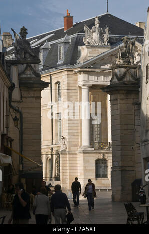 France, Cote d'Or, Dijon, palace of the dukes and estates of Burgundy - Stock Photo