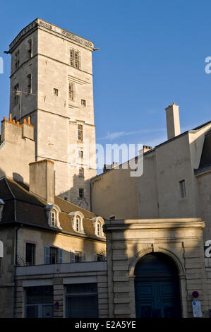 France, Cote d'Or, Dijon, chapel of the Chosen palace of the dukes and estates of Burgundy - Stock Photo