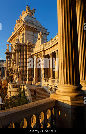 France, Bouches du Rhone, Marseille, european capital of culture 2013, the Palais Longchamp, district of Longchamp, - Stock Photo