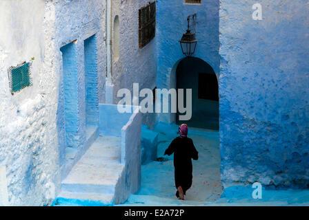 Morocco, Rif region, Chefchaouen (Chaouen), kasbah - Stock Photo