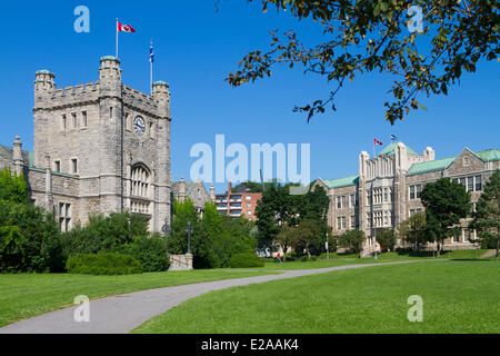 Canada, Quebec Province, Montreal, Westmount, the city hall from 1922 - Stock Photo