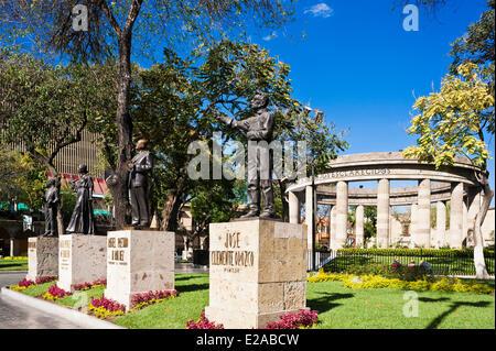 Mexico, Jalisco state, Guadalajara, the historical center, Rotonda de los Jaliscienses Ilustres (Rotunda of Illustrious Jalisco