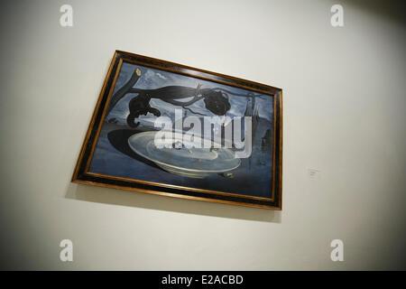 Spain, Madrid, Museo Nacional Centro de Arte Reina Sofia (Queen Sofia Museum), Salvador Dali painting - Stock Photo