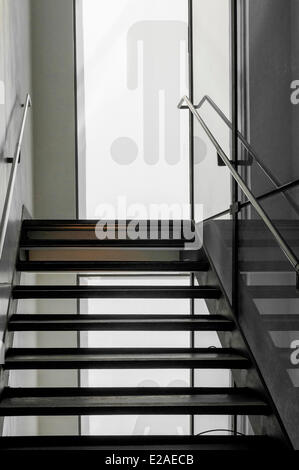 United Kingdom, Scotland, Glasgow, downtown, museum of the The Lighthouse, Foundation of Charles Rennie Mackintosh - Stock Photo