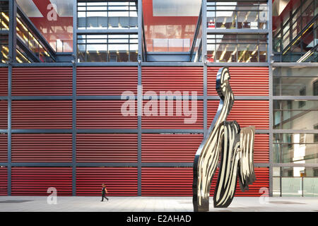 Spain, Madrid, National Museum Art Centre Reina Sofia, covers the period extending from 1900 to today, Roy Lichtenstein - Stock Photo