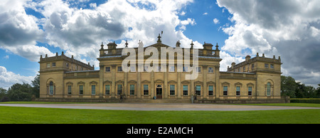 Harewood House, Edwin Lascelles' mansion, designed by John Carr of York, 1759, palladian style, UK, West Yorkshire - Stock Photo