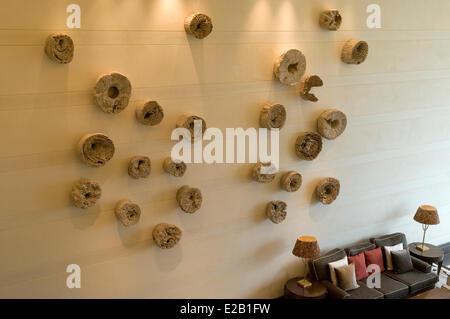Ireland, County Kerry, Killarney, Hotel Europe, lobby - Stock Photo