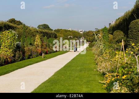 France, Paris, the Jardin des Plantes (Botanical Garden) - Stock Photo