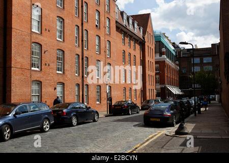 United Kingdom, London, East End, Shoreditch, Boundary Estate - Stock Photo