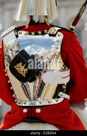 United Kingdom, London, Westminster borough, Horse Guards Parade, the Life Guards changing the guard