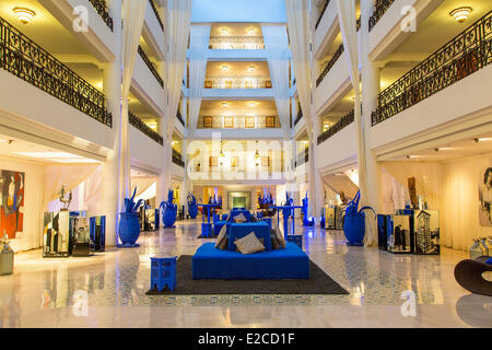 Morocco, High Atlas, Marrakesh, Imperial City, Hotel Sofitel - Stock Photo