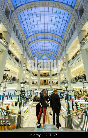 Russia, Saint Petersburg, listed as World Heritage by UNESCO, DLT Department Store - Stock Photo