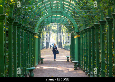 Russia, Saint Petersburg, listed as World Heritage by UNESCO, the summer garden