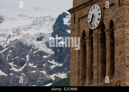 France Hautes Alpes Les Terrasses, - Stock Photo