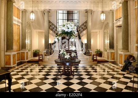 Argentina Buenos Aires staircase of the Four Seasons Hotel La Mansion foyer - Stock Photo