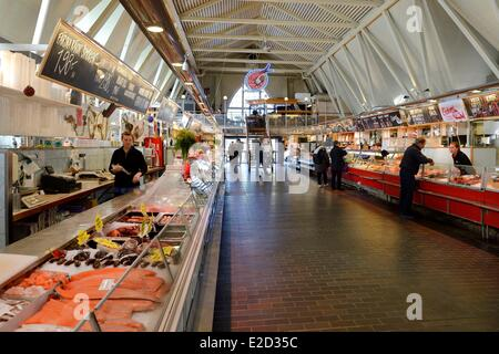 Sweden Vastra Gotaland Goteborg (Gothenburg) the Fish Church Feskekorka - Stock Photo