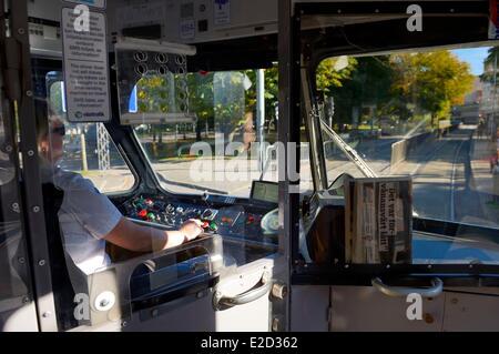 Sweden Vastra Gotaland Goteborg (Gothenburg) tram - Stock Photo