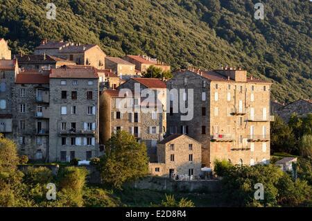 France, Corse du Sud, Alta Rocca, Sainte Lucie de Tallano (Santa Lucia di Tallà) - Stock Photo