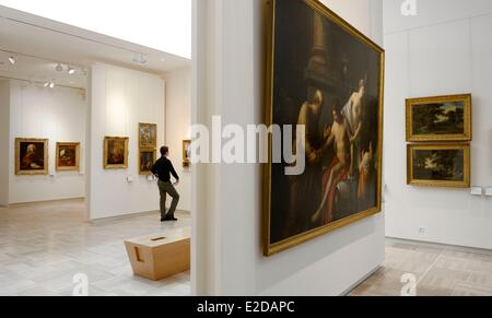 France Finistere Quimper musee des Beaux Arts french painting collection - Stock Photo