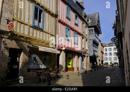 France Finistere Quimper Salle Street in the old town - Stock Photo