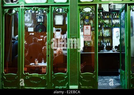 Spain, Andalusia, Cordoba, the Bodegas El Gallo - Stock Photo