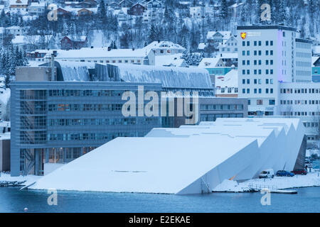 Norway, Lapland, Troms, Tromso, the museum Polaria discovery center of the Arctic - Stock Photo