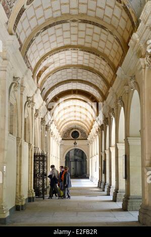 France Rhone Lyon historical site listed as World Heritage by UNESCO Palais Saint Pierre Musee des Beaux Arts (Fine - Stock Photo
