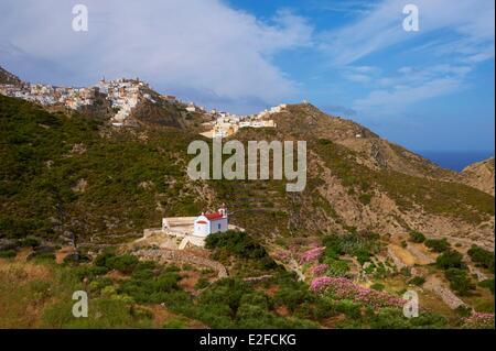 Greece, Dodecanese, Karpathos Island, Olympos - Stock Photo