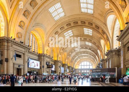 Argentina Buenos Aires Constituci≤n district la Constitucion station in 1917 - Stock Photo